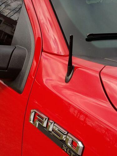 "FITS **SHORT**  4/"" BLACK ALUMINUM ANTENNA MAST 2009-2013 Volkswagen Tiguan"