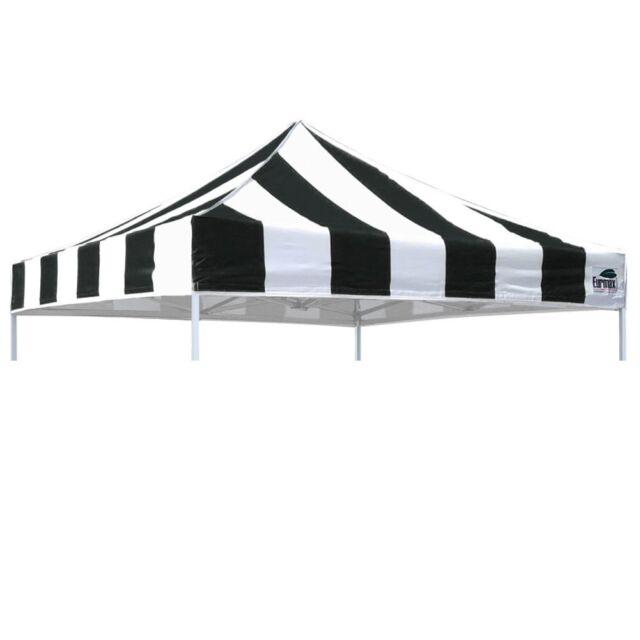 EZ Pop Up Canopy Tent 10x10 Carnival Replacement 500D UV Top Cover Black/White  sc 1 st  eBay & EZ Pop Up Canopy Tent 10x10 Carnival Replacement Top Cover Forest ...