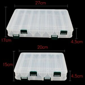 Transparent-Double-Side-Fishing-Lure-Bait-Hooks-Fishing-Tackle-Storage-Case