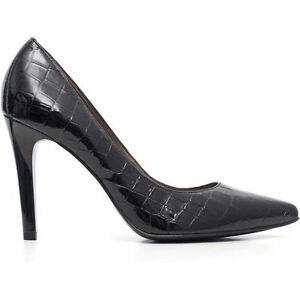 Decollete scarpa elegante NeroGiardini A616392de autunno inverno SOLO 37