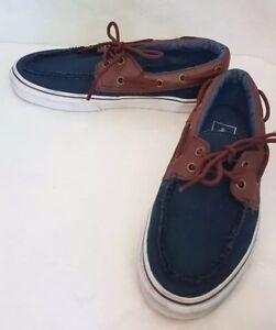 uk vans blue brown blue chaussures