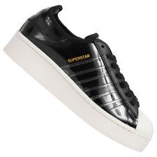 adidas Originals Superstar Bold Damen Freizeit Plateau Sneaker Schuhe FW8423