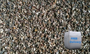 Image Is Loading 10mm Pea Gravel Bulk Bag 850kg Minimum Free