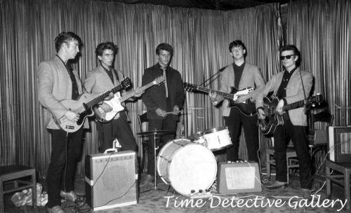 Pauli The Beatles at The Indra Club Germany-Vintage  Photo Print St Hamburg