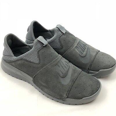 21159b22c51358 Nike Benassi Slip Mens SNEAKERS Anthracite anthracite 882410-004 9 ...