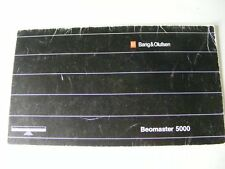 B&O BANG & OLUFSEN BEOMASTER 5000 BEOSYSTEM OWNER MANUAL 23 PG BOOKLET