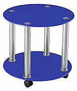 Tisch Glas Rund Beistelltisch