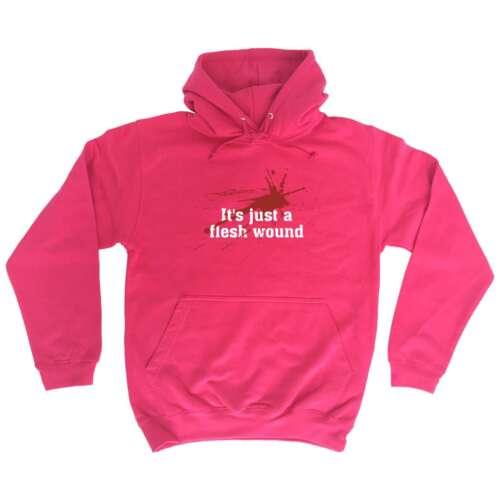 Funny hoodie sa juste une blessure Hardcore Tough Hoodies Sweat à Capuche Pull Anniversaire