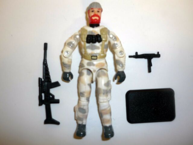 GI JOE BLIZZARD Vintage Action Figure COMPLETE C9+ v2 1997
