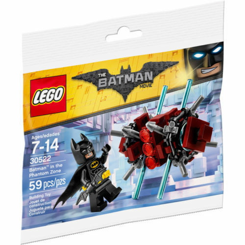 LEGO 30522 The Batman Movie Batman in the Phantom Zone Polybag Minifigure NEW