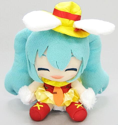 Taito Vocaloid Hatsune Miku Original White Bunny Spring Version Plush TAI69400
