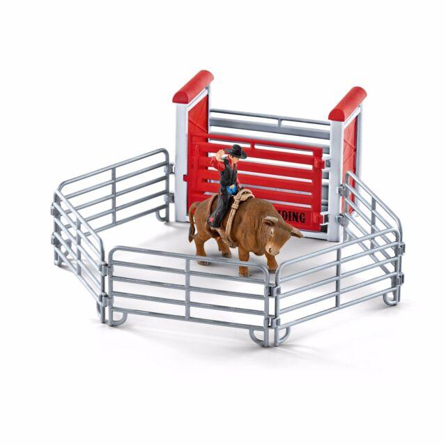 Schleich Nr. 41419  Bull riding mit Cowboy  Neu ! Neuheit 2017