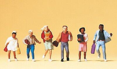 Preiser 10476 H0, Club, 6 Figure, Dipinta A Mano, Nuovo-mostra Il Titolo Originale