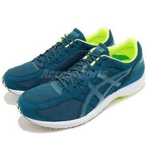 d745167b1424 Asics Tartherzeal 6 Deep Aqua Volt White Men Running Shoes Sneakers ...