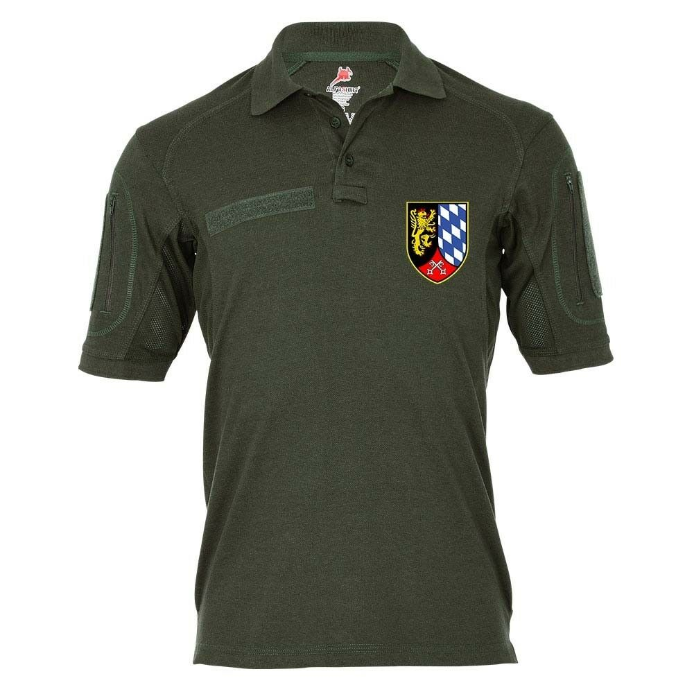 Tactical Polo PzBrig 12 Panzerbrigarde Bundeswehr Abzeichen Wappen Panzer