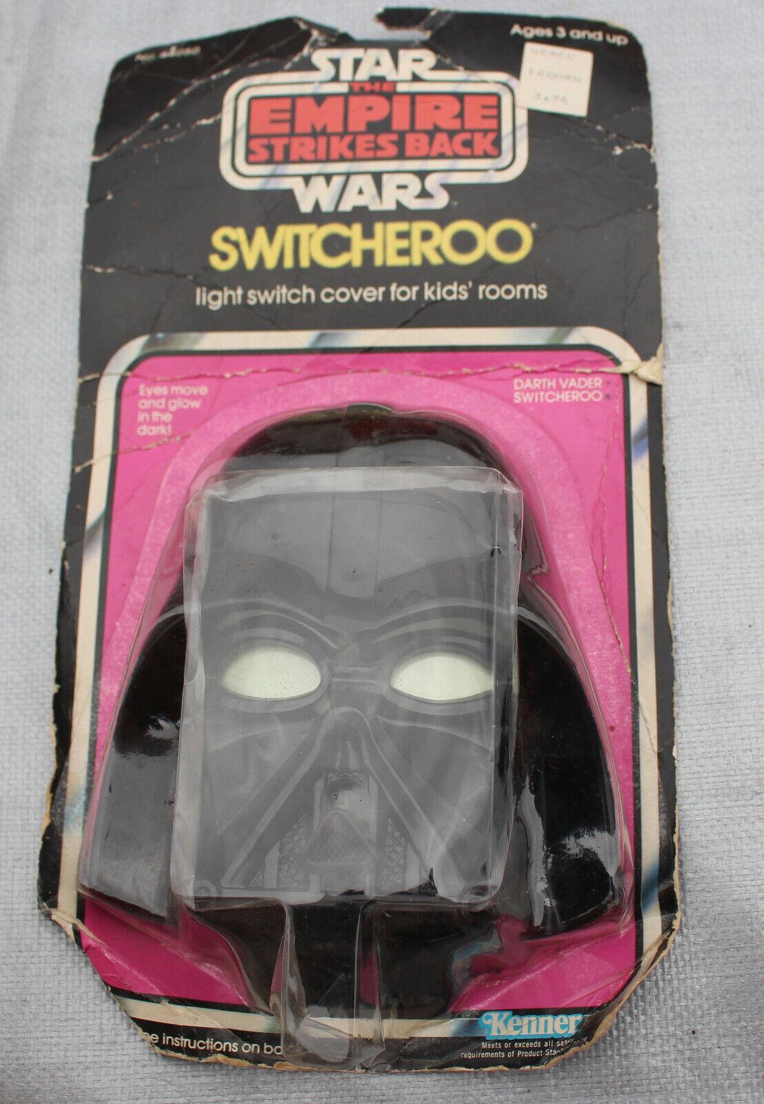 Seleccione de las marcas más nuevas como Vintage Vintage Vintage 1980 Kenner Switcheroo de Estrella Wars Darth Vader Imperio Contraataca Luz Juguete Tarjeta nidb Nuevo  salida