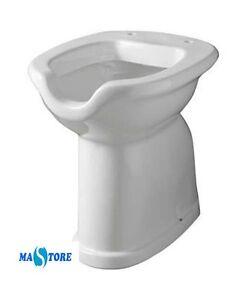 Vaso wc per disabili con apertura frontale ausili handicap for Vaso per disabili