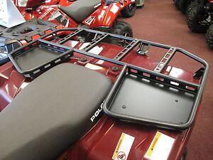 Details about Pure Polaris Steel Rear Rack Tough Rack Sportsman 570 ETX 450  H O  2014-2018