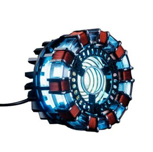 1:1 Iron Man Tony DIY Arc Reactor Lamp Light Kits Or Builted Model Collection