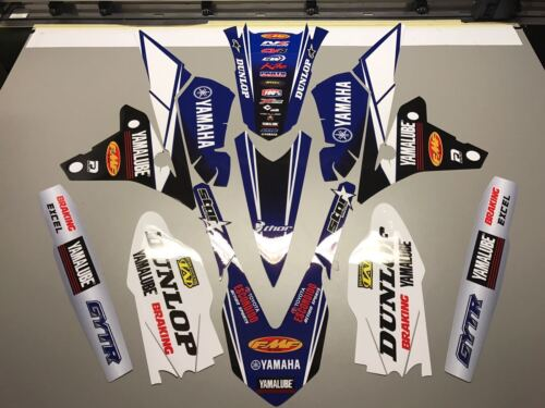 YAMAHA YZF250 YZF450 2014 2015 2016 MX Graphics Decals Stickers Decallab