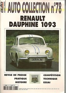 Auto Collection 78 Renault Dauphine 1093