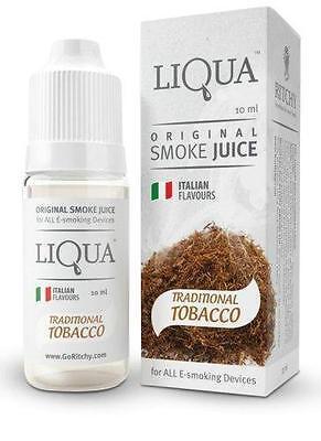 E-Zigarette, E-Liquid der Firma Liqua 5 x 10ml freie Auswahl, Grip, Box, Istick
