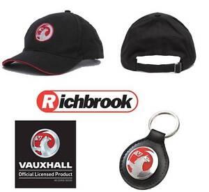 Richbrook Vauxhall Baseball Cap /& Vauxhall Leather Key Fob GREAT GIFT IDEA