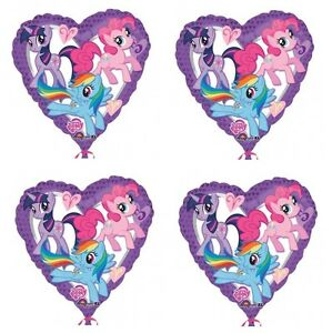 4x-NEW-My-Little-Pony-18-034-Foil-Balloon-Birthday-Decorations-Party-Favor-Supply