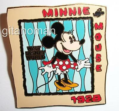 Disney WDW Walt World Piece of History Pin LE 1500 Downtown Mickey Minnie Mouse