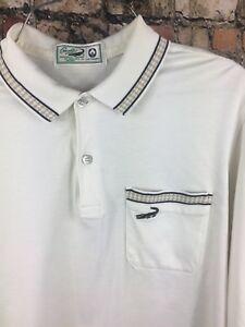 Mens Original Polo Pocket About 80s Crocodile White Vintage Small Details Retro Lacoste Shirt CBrdoex