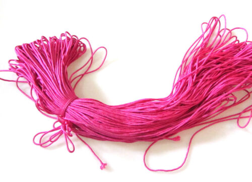 100 Meters 2mm Nylon Rope Braided Cord Strand Rope For DIY Bracelet Bangle