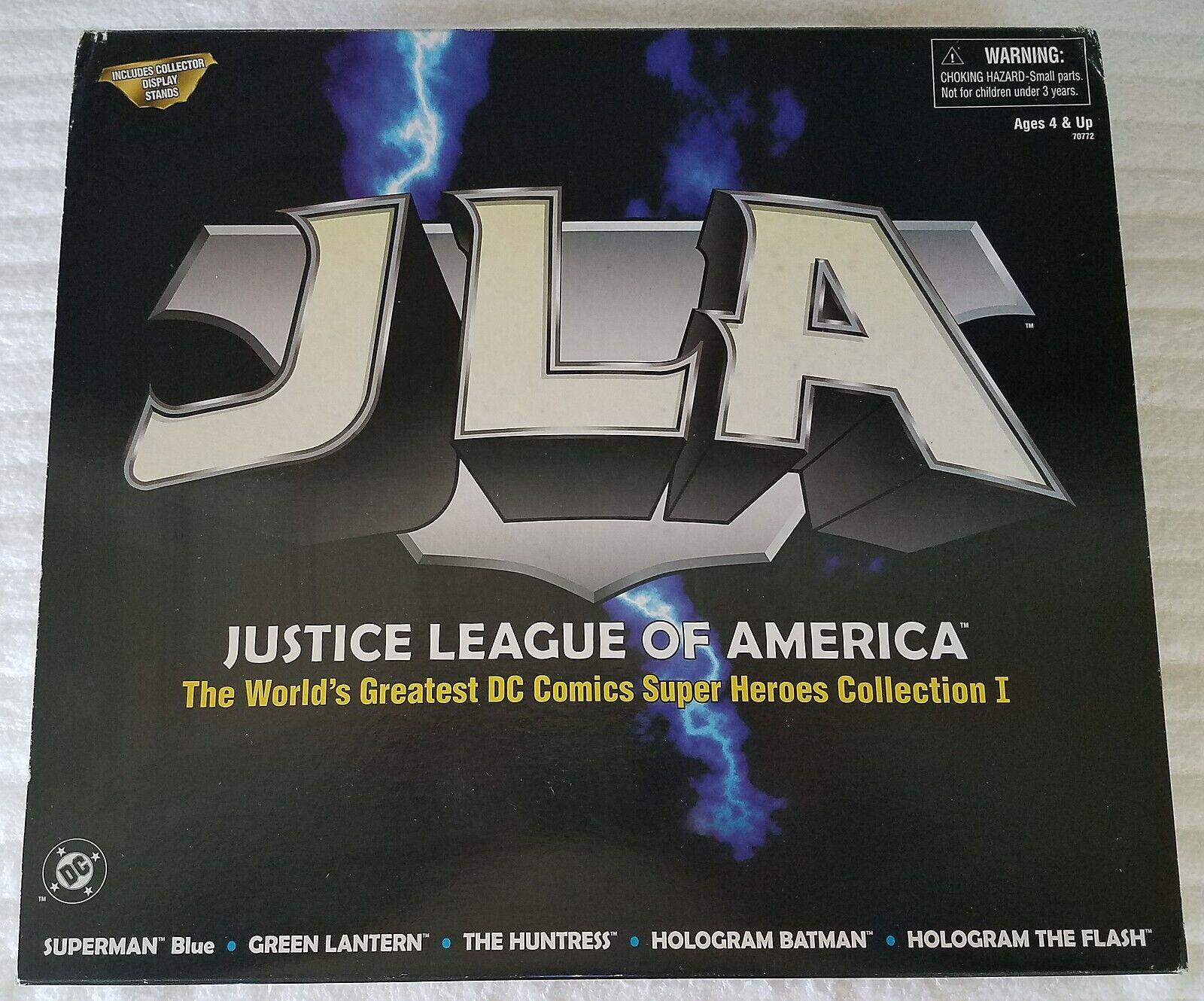 Justice League of America colección que con la Liga de la justicia de América coleccionista expositores
