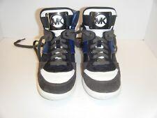 28890917684f0 item 4 Michael Kors NIKKO Women High Top Wedge Sneakers Sapphire Suede Shoes  -Michael Kors NIKKO Women High Top Wedge Sneakers Sapphire Suede Shoes