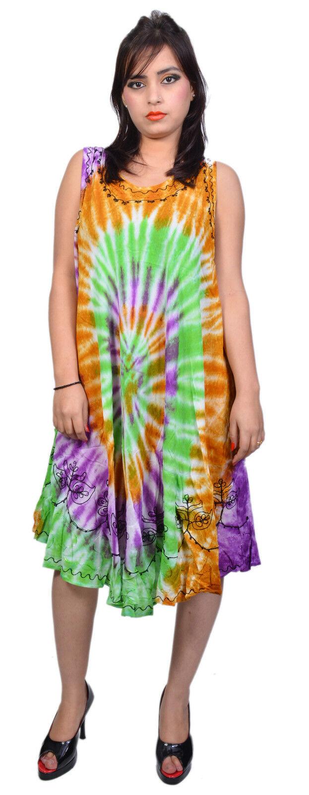 Wevez New Trendy Women Summer Casual Sleeveless Evening Party Beach Dress 10 Pcs