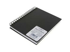Winsor & Newton Hardback 170gsm Sketchbook - Spiral Bound - Choose A6 A5 A4 A3
