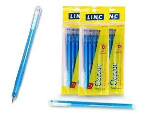 0.55 mmWaterproof Gel Inktextured Grip 40 Linc OCEAN Gel Pen BLUE