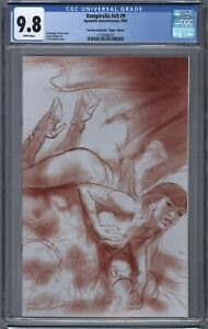 Vampirella-9-CGC-9-8-Lucio-Parrillo-RED-Sketch-VIRGIN-Variant