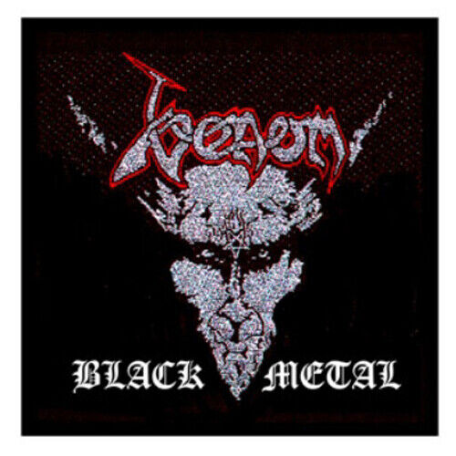 Venom Black Metal Sew On Woven Patch Official Band Merch New