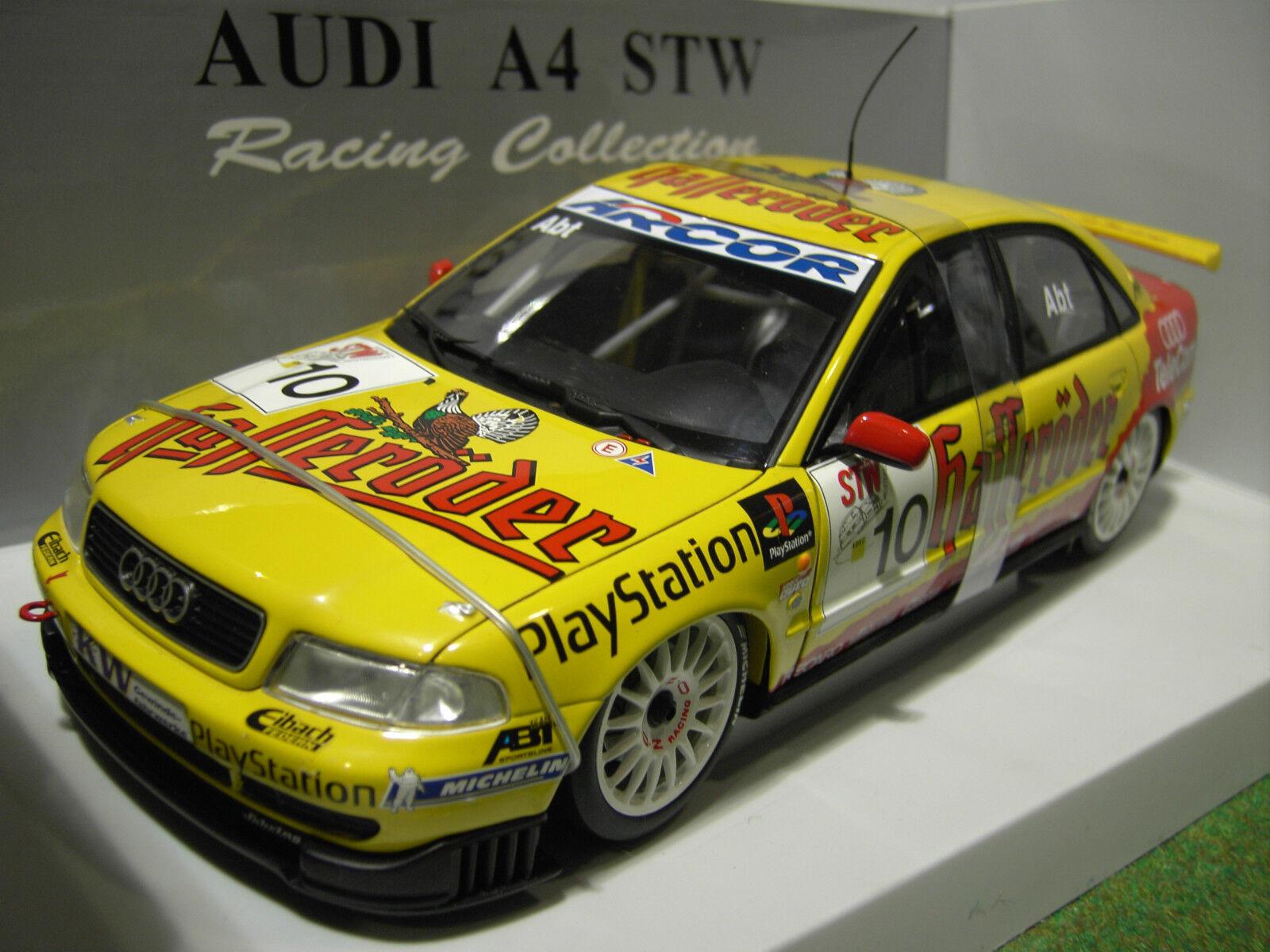 AUDI A4 STW ABT   10 DTM 99 ABT CHRISTIAN 1 18 UT Models 39971 voiture miniature