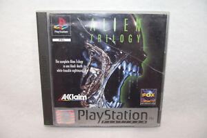 Jeu-Playstation-1-PS1-ALIEN-TRILOGY-Acclaim-PAL-Complet-manuel