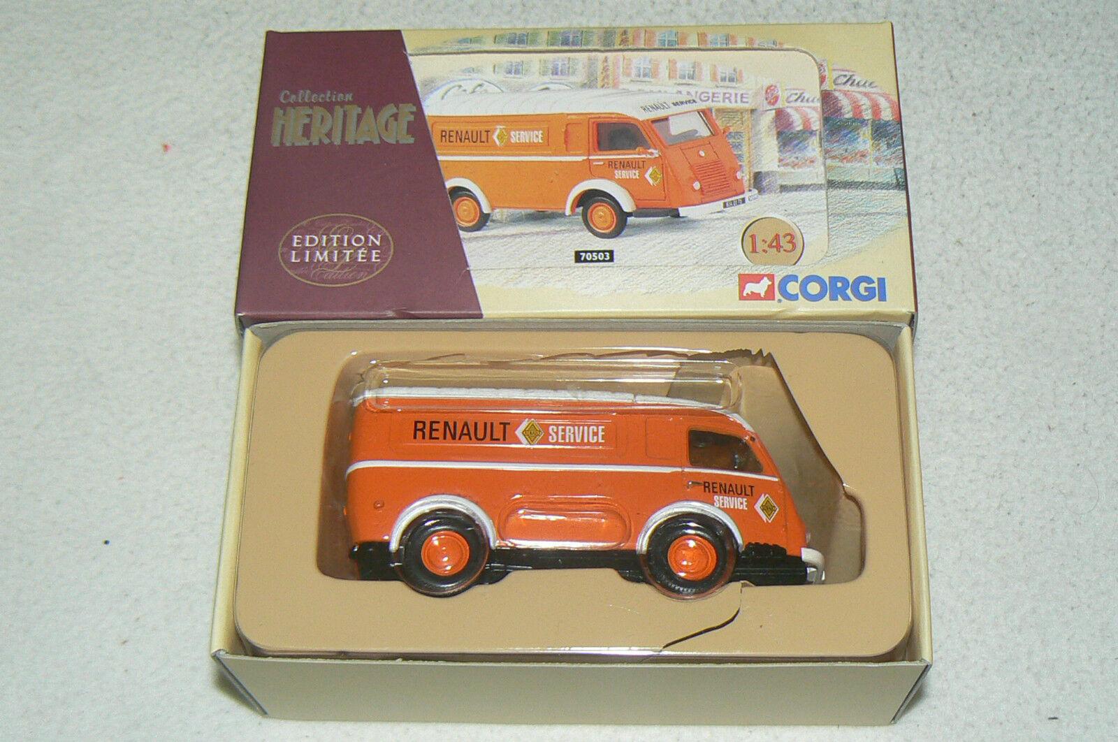 Camion CORGI HERITAGE Renault 1000 KG Service ETAT NEUF + boite ref   70503