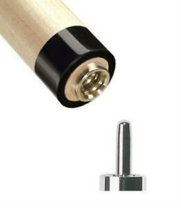 NEW-Players-UniLoc-Pool-Billiards-Cue-Stick-Shaft-12-75mm-Black-Collar-PXS-UBC