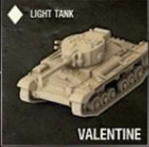 World of Tanks: British Tank - Valentine