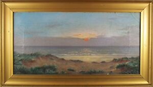 Alfred-Armitage-British-1860-1931-Original-Oil-Painting-Signed
