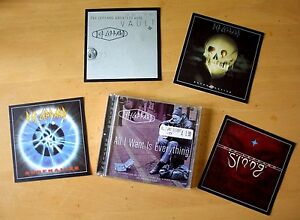 AS-NEW-Def-Leppard-CD-ALL-I-WANT-IS-EVERYTHING-LTD-Edition-4-Postcards
