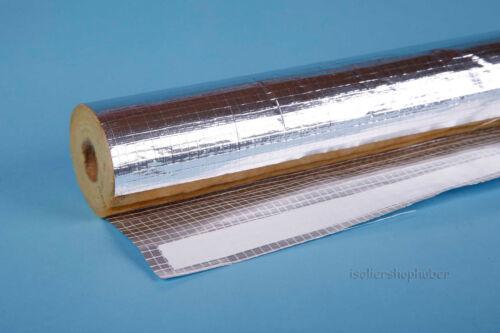 ISOVER Rohrisolierung Protect 19,2 m Kartonware 28//30 mm alukaschiert