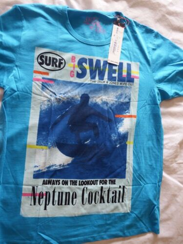 Jack /& Jones Mens T-Shirt X-Large XL New RRP £19.99 4 designs