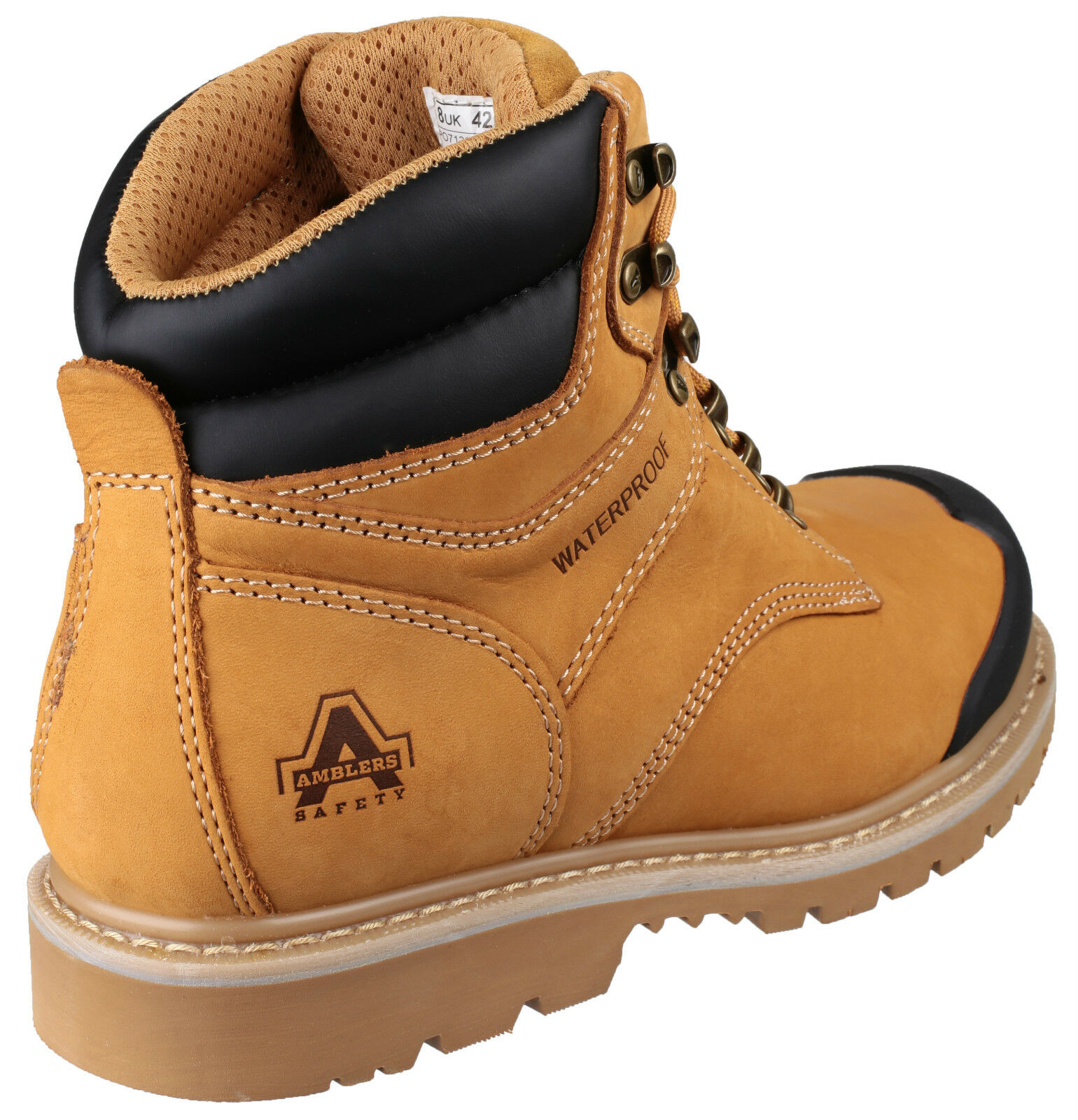 Amblers FS226 imperméable de sécurité homme UK6-13 miel steel toe cap boots UK6-13 homme 18f9be