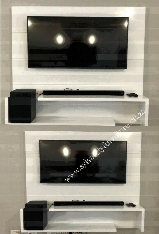 Floating wall units available in different designs and sizes