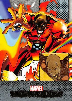 SYNCH Marvel Beginnings Series 1 BASE Trading Card #46